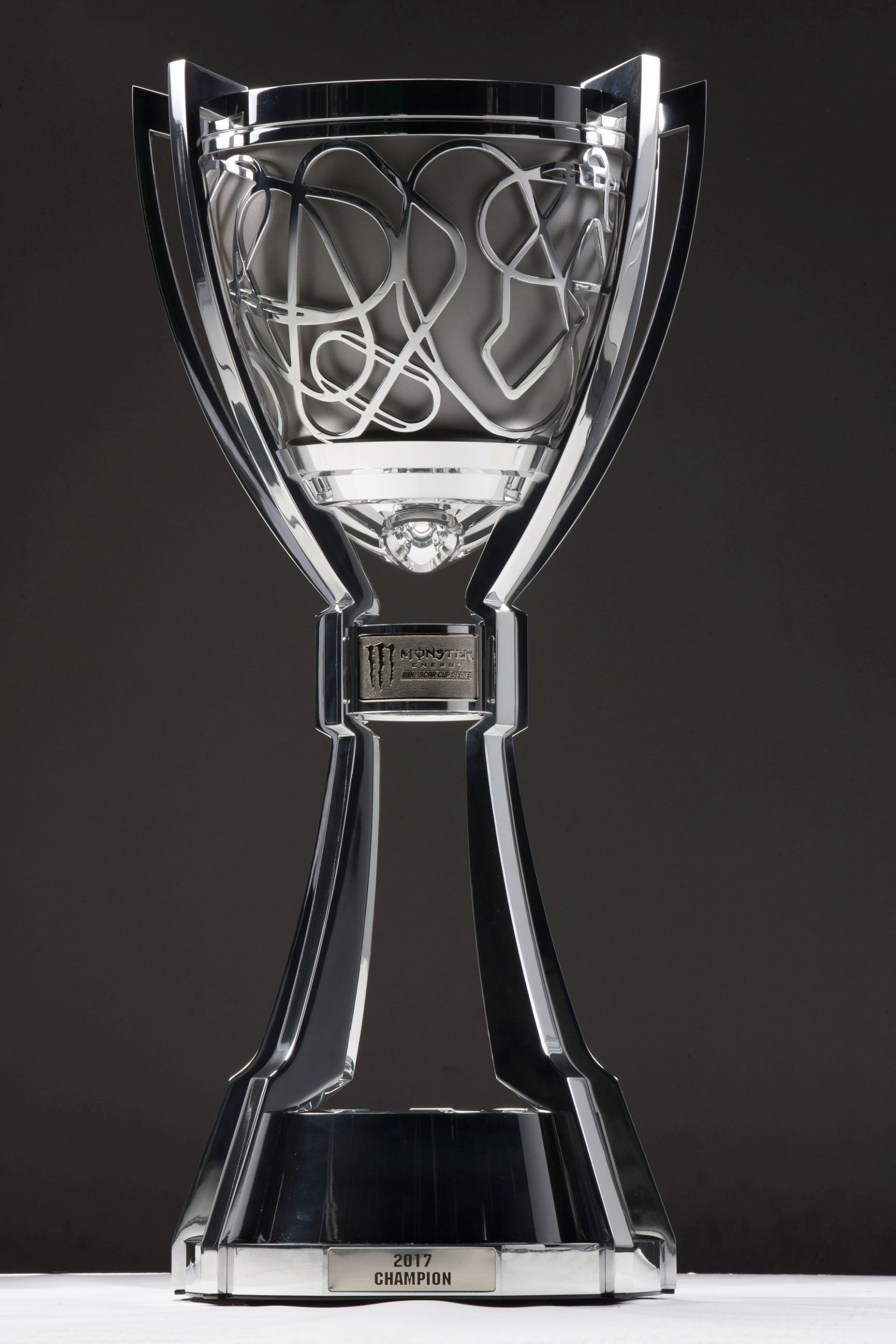 Monster Energy Nascar Cup Championship Trophy Unveiled Catchfence
