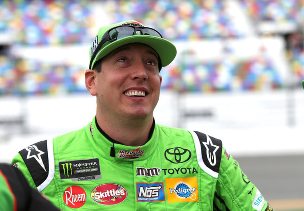 02f04829d80 Kyle Busch  All the racers out there appreciated Chicagoland finish ...